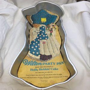 Vintage 1975 Wilton Holly Hobbie Party Cake Pan